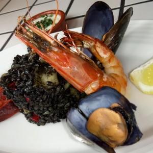 Arroz negro/Sepia/Gamba/Chorizo