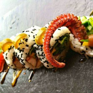 Special tako roll